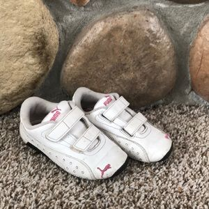 Used Puma Toddler Girls shoes size 9.